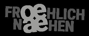 Froehlich Naehen Logo grau
