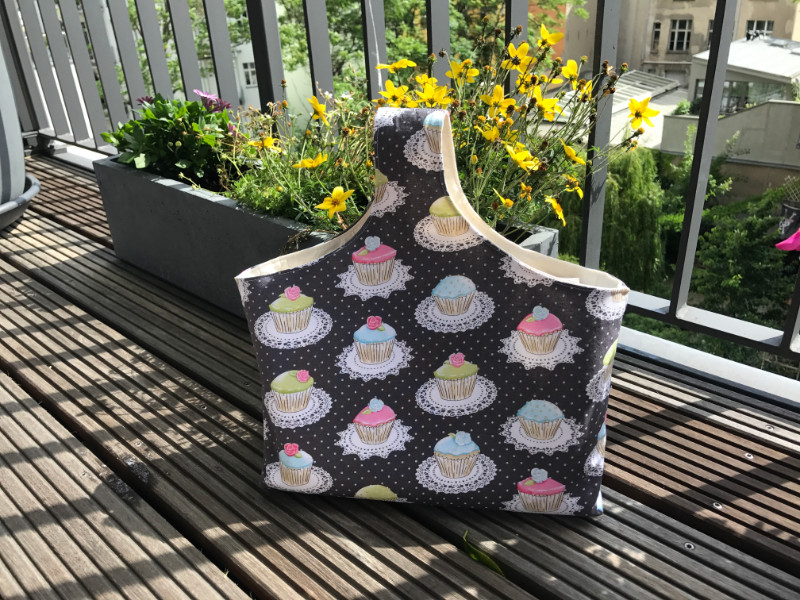 Zeitschriftentasche - Cupcakes