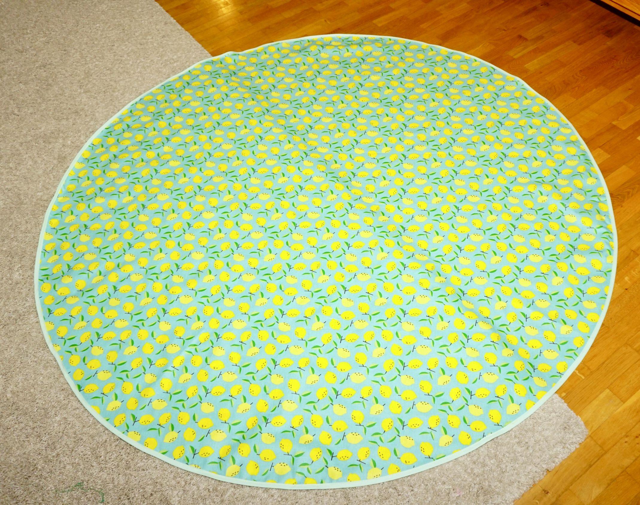 Tischdecke Zitrone